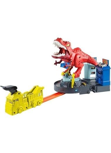 Hot Wheels  T-Rex Saldırısı Oyun Seti Gfh88 Renkli